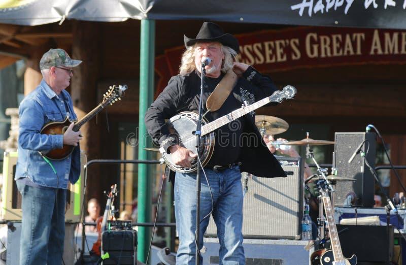 Estrela John Anderson da música country fotografia de stock royalty free
