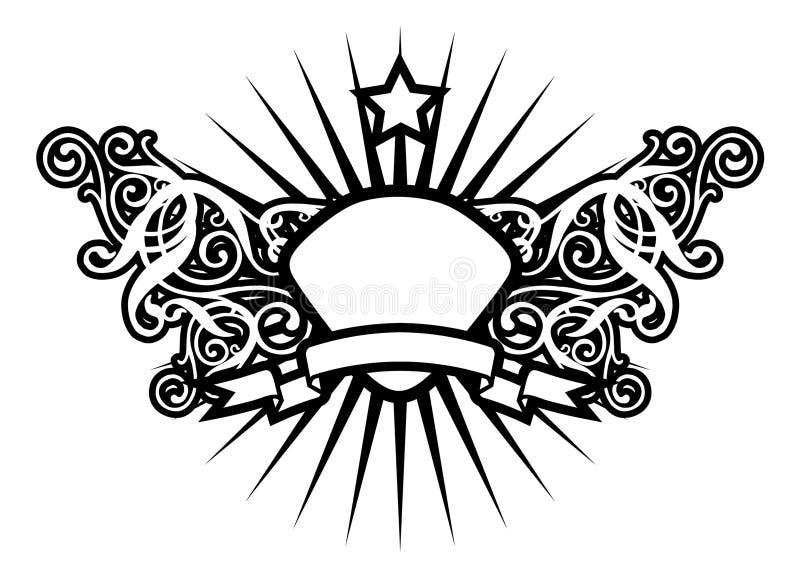 Estrela luxuosa ilustração do vetor