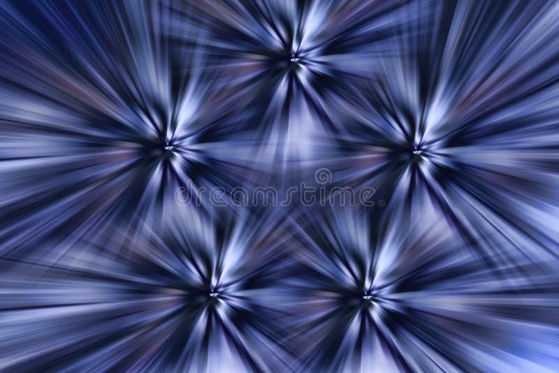 A estrela metálica brilha a ilustração abstrata do fundo imagem de stock royalty free