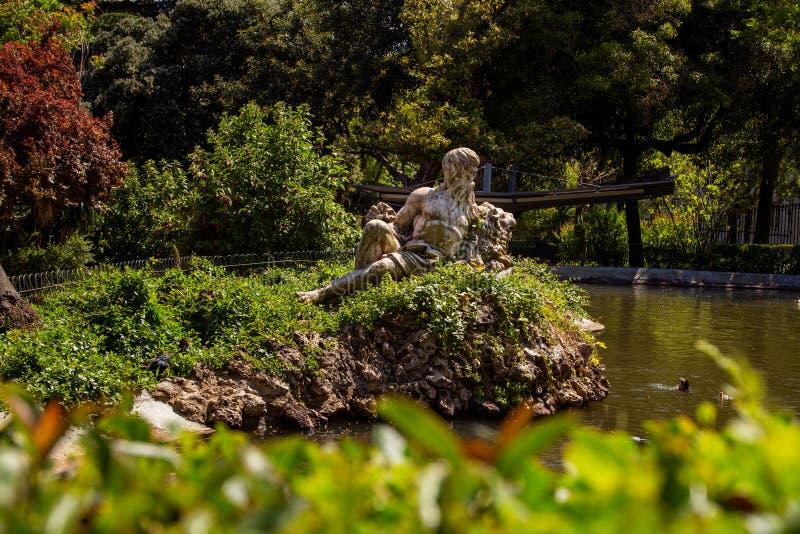 Estrela ogród w Lisbon zdjęcie stock