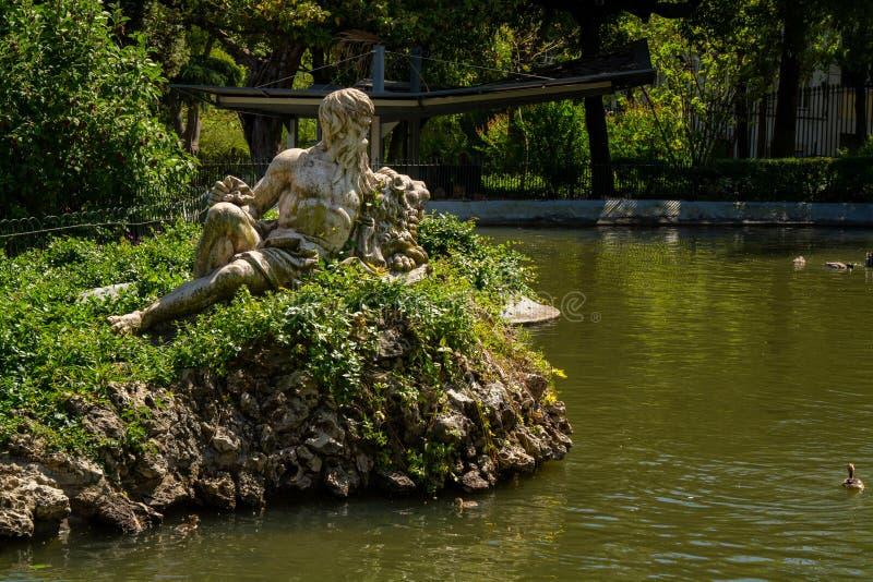 Estrela ogród w Lisbon obraz royalty free