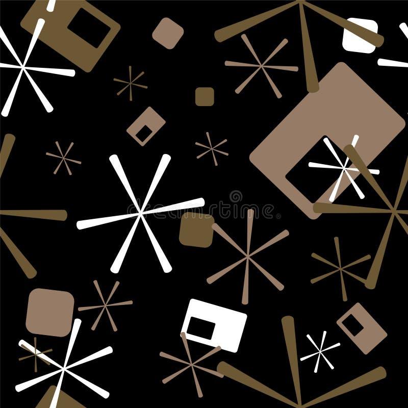 Estrela retro ilustração do vetor