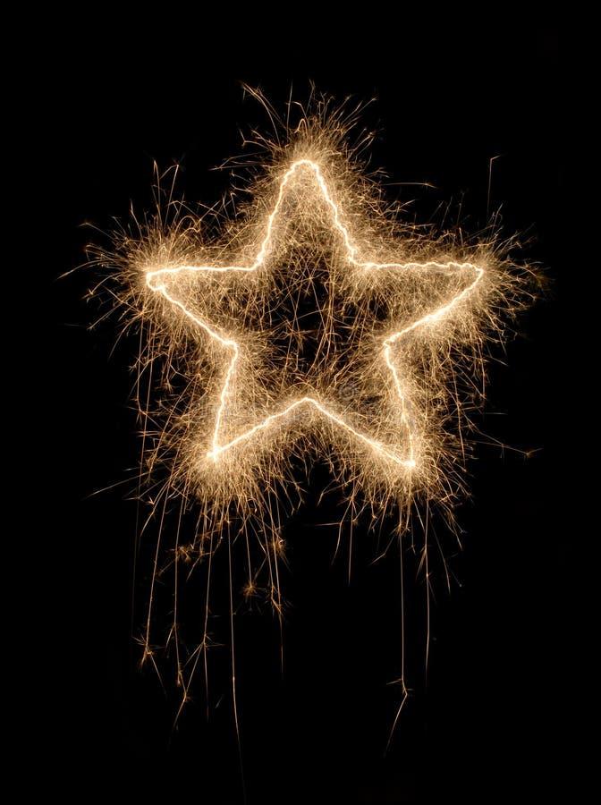 Estrela Sparkling fotos de stock royalty free