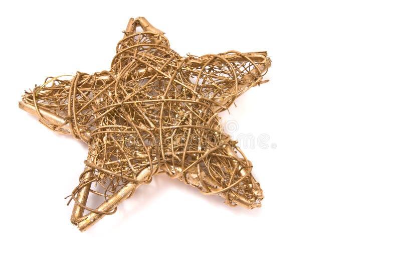 Estrela tradicional do Natal imagens de stock