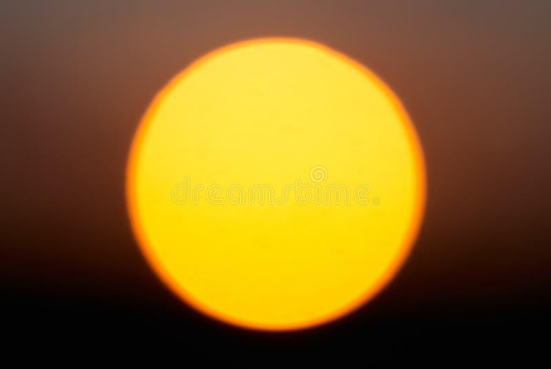 Estrela vermelha grande Sun imagens de stock