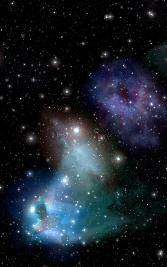 Estrelas ilustração stock