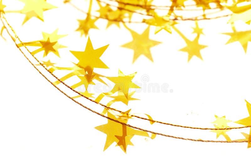 Estrelas amarelas imagens de stock