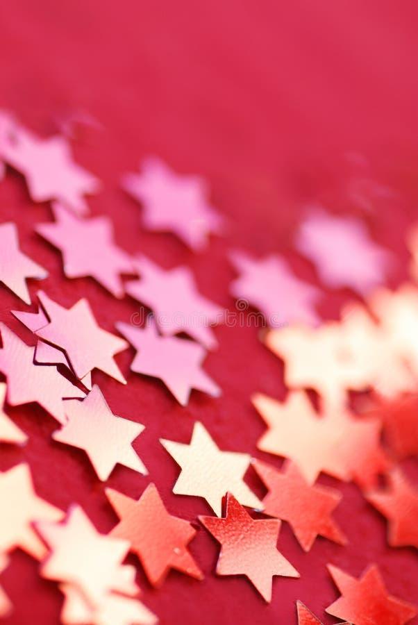 Estrelas coloridas fotografia de stock