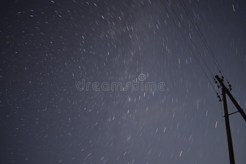 Estrelas da noite fotos de stock royalty free