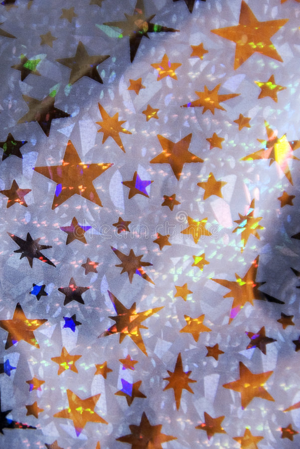 Estrelas do ouro fotografia de stock