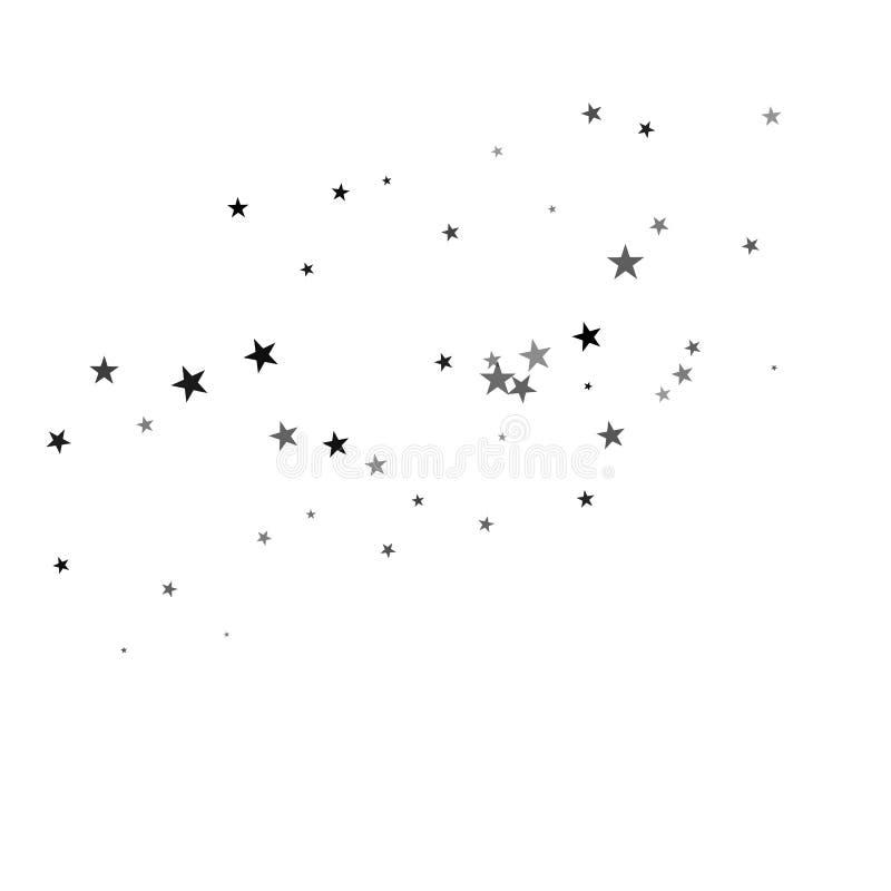 Estrelas em um fundo branco ilustração royalty free
