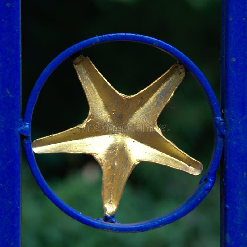 Estrelas na parede imagem de stock royalty free