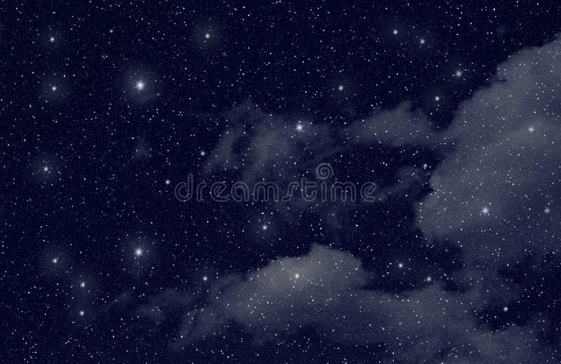 Estrelas no espaço foto de stock royalty free