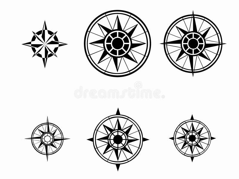 Estrelas nortes ilustração royalty free