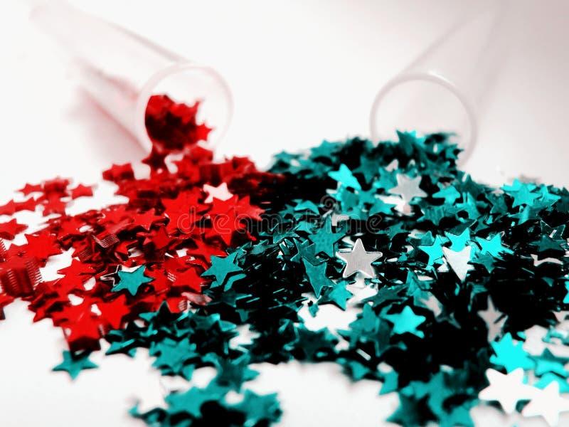 Estrelas para o Natal feito a mão fotografia de stock