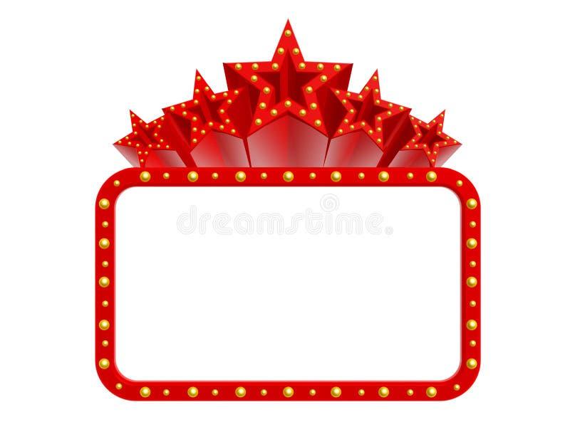 Estrelas super do casino ilustração royalty free