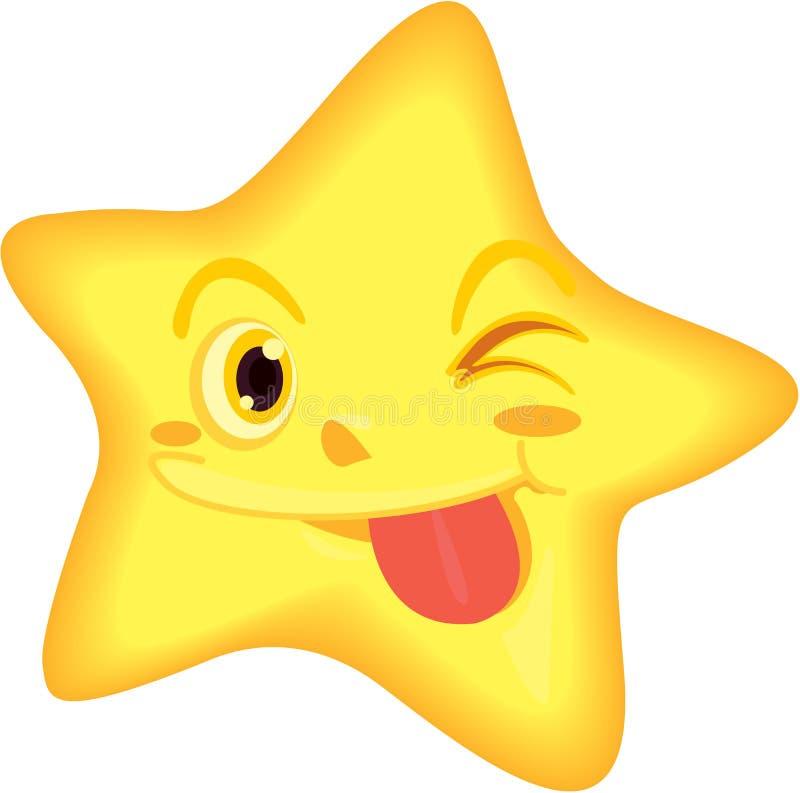 Estrella ilustración del vector