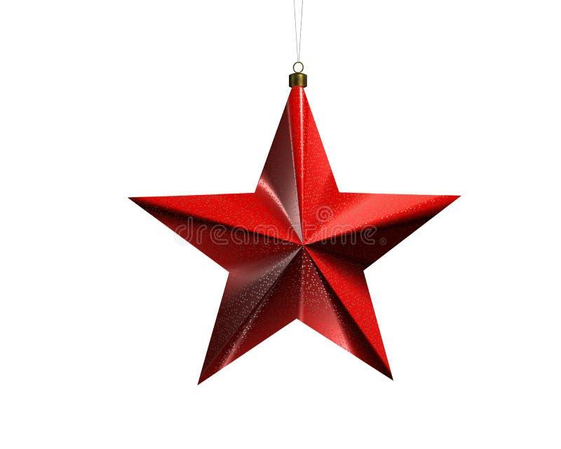 Estrella 2 de la Navidad stock de ilustración