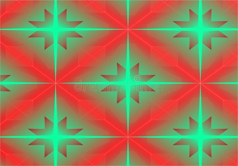 Estrella abstracta del diseño del fondo 3d libre illustration