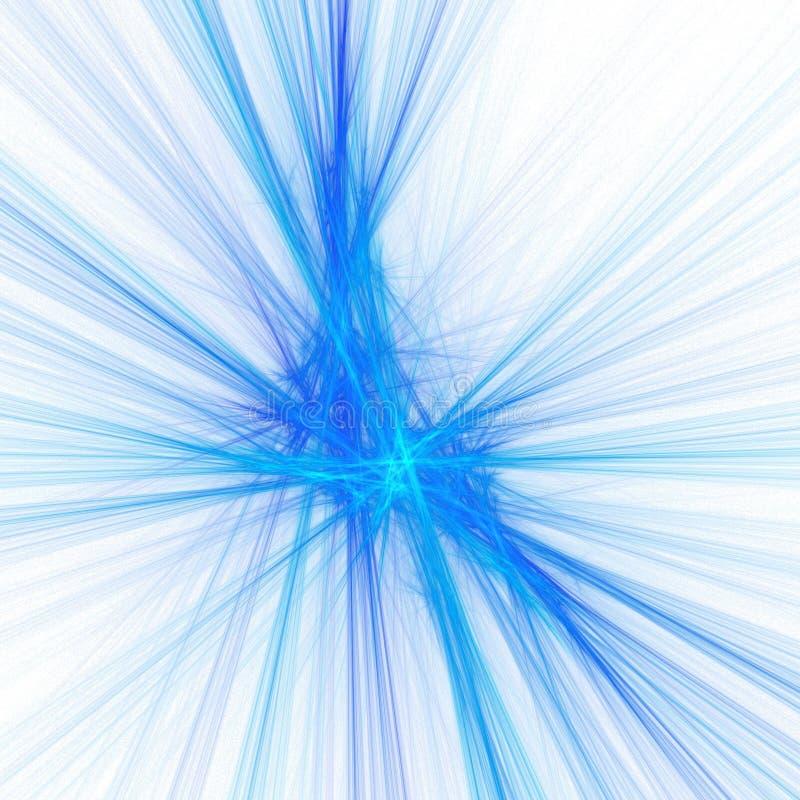 Estrella azul stock de ilustración