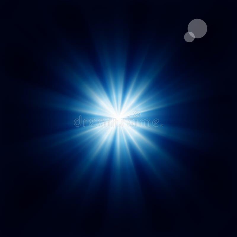 Estrella brillante stock de ilustración