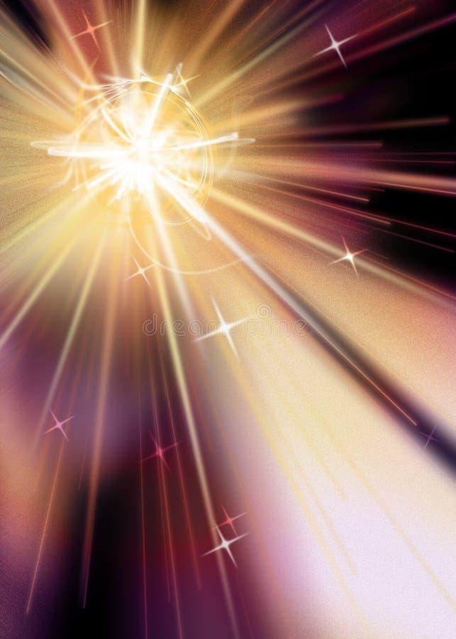 Estrella Burst1 ilustración del vector