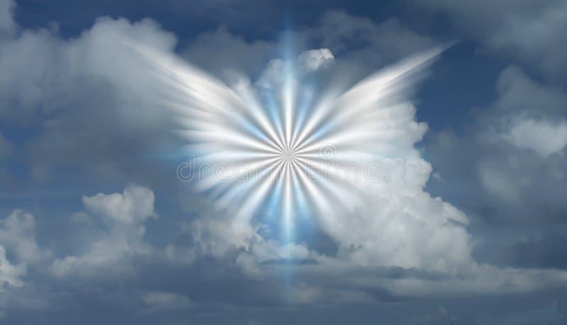 Estrella coa alas libre illustration