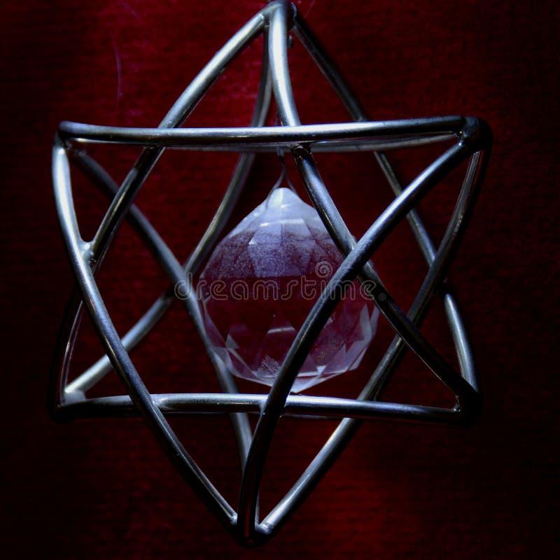 Estrella David foto de archivo libre de regalías