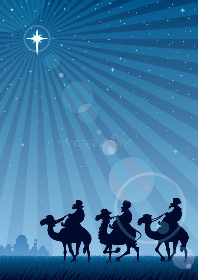 Estrella de Bethlehem stock de ilustración