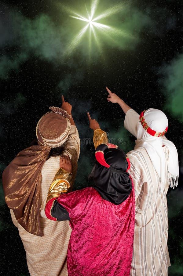 Estrella de Bethlehem imagenes de archivo