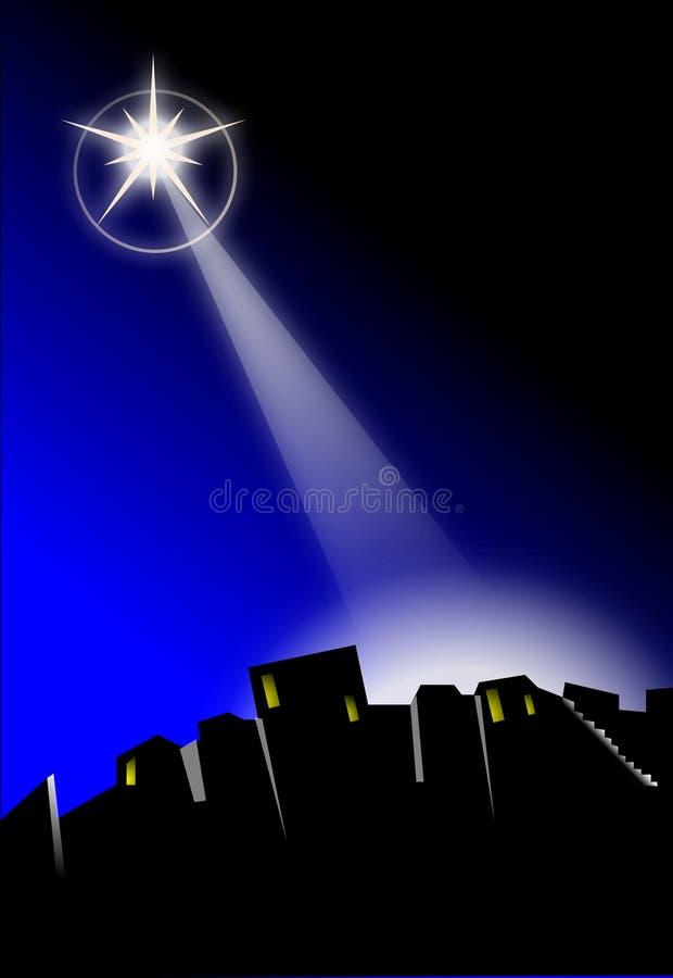 Estrella de bethlehem libre illustration