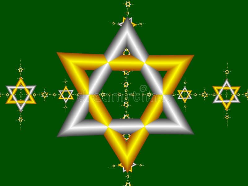 Estrella de David 1 imágenes de archivo libres de regalías