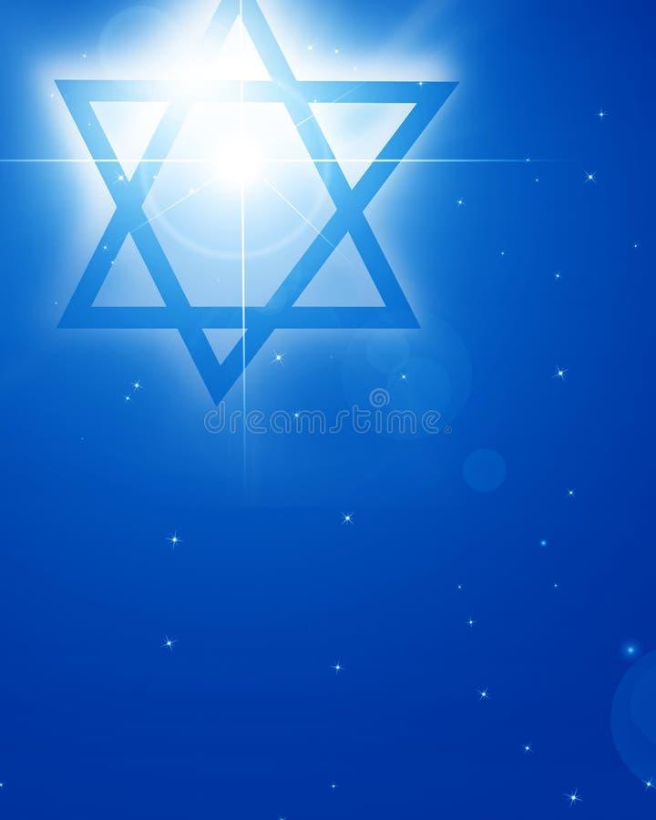 Estrella de David stock de ilustración