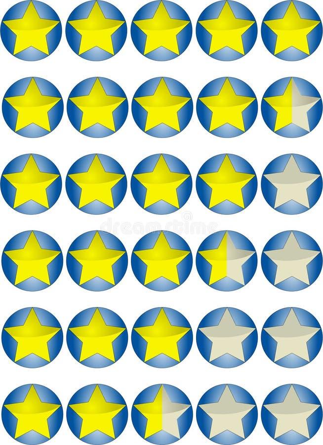 Download Estrella de la alta tasa stock de ilustración. Ilustración de cuenta - 7151887