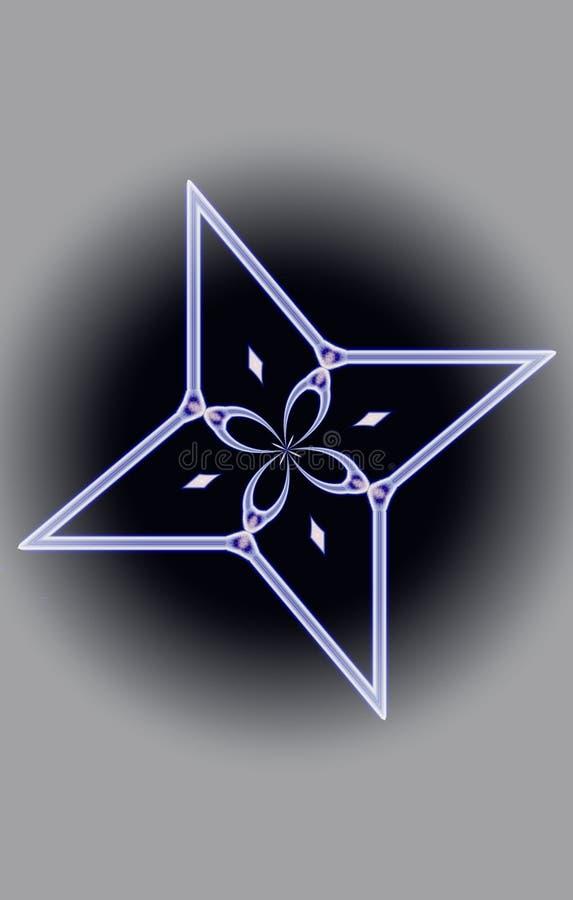 Estrella de la fantasía fotos de archivo libres de regalías