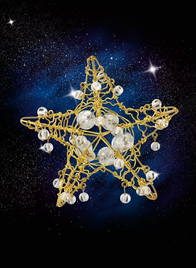 Estrella de la Navidad imágenes de archivo libres de regalías