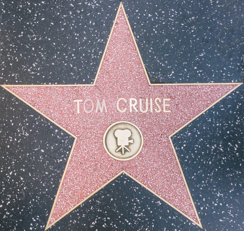 Estrella de la travesía de Tom imágenes de archivo libres de regalías