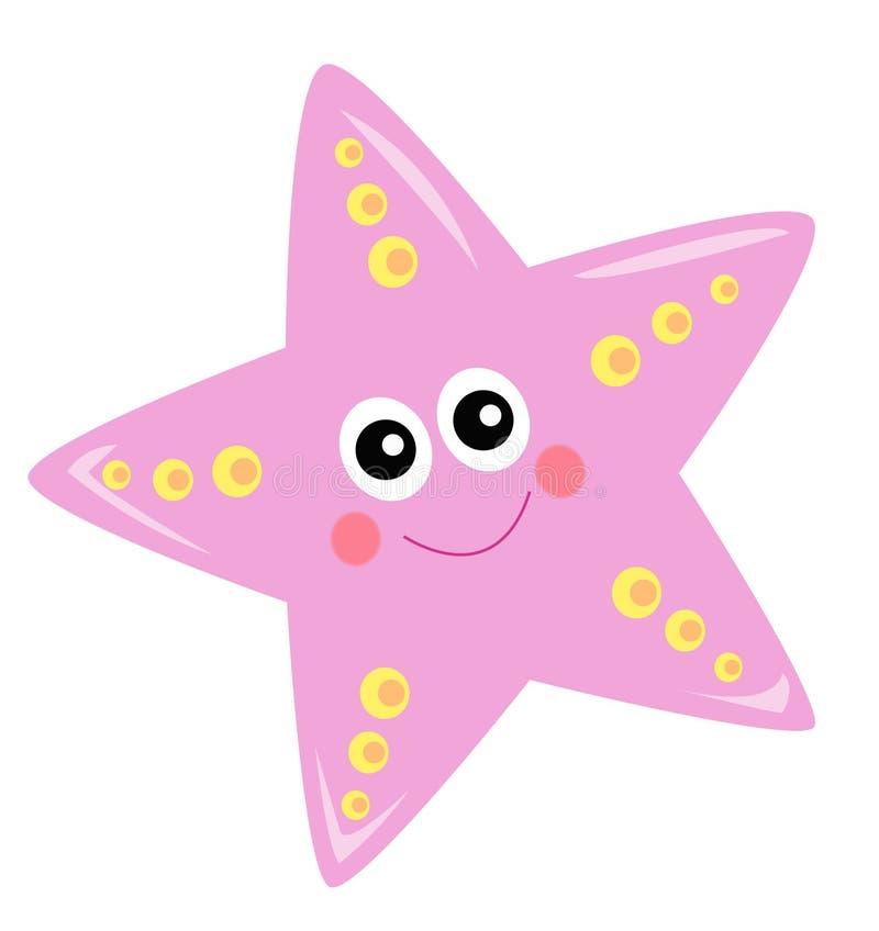 Estrella de mar stock de ilustración
