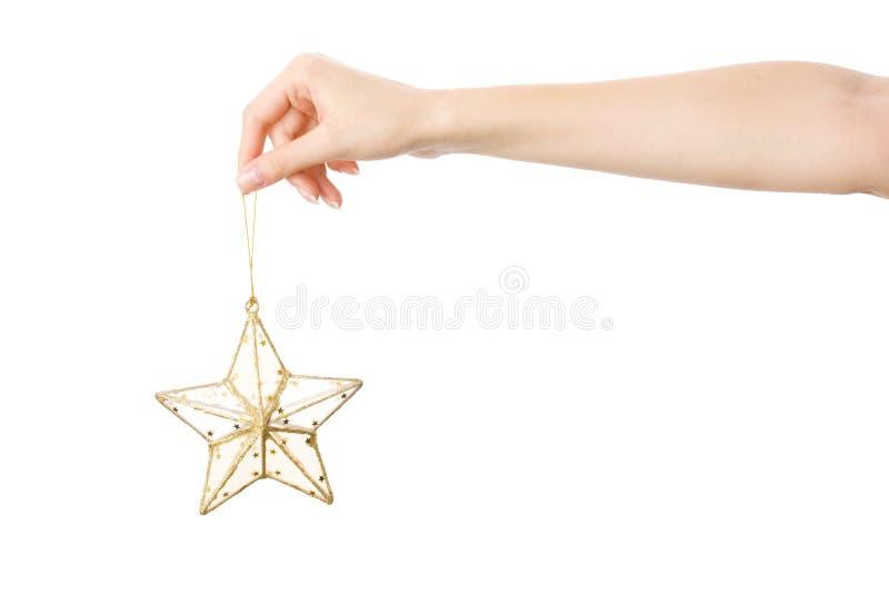 Download Estrella de oro imagen de archivo. Imagen de glittering - 7289251