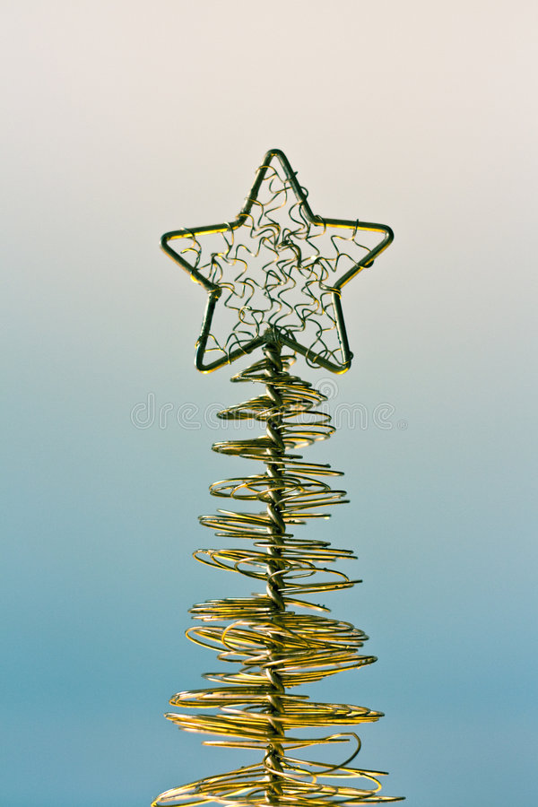 Estrella de oro imagenes de archivo