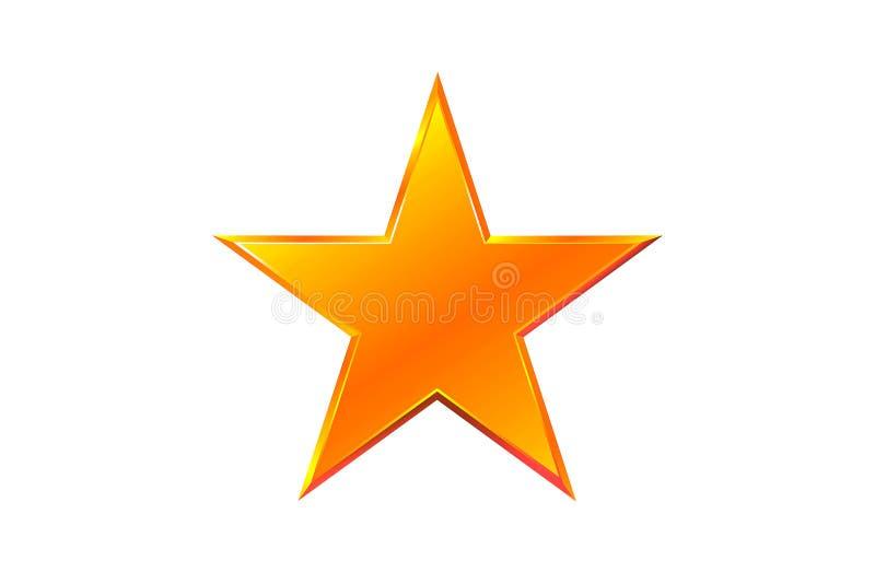 Estrella del oro imagenes de archivo