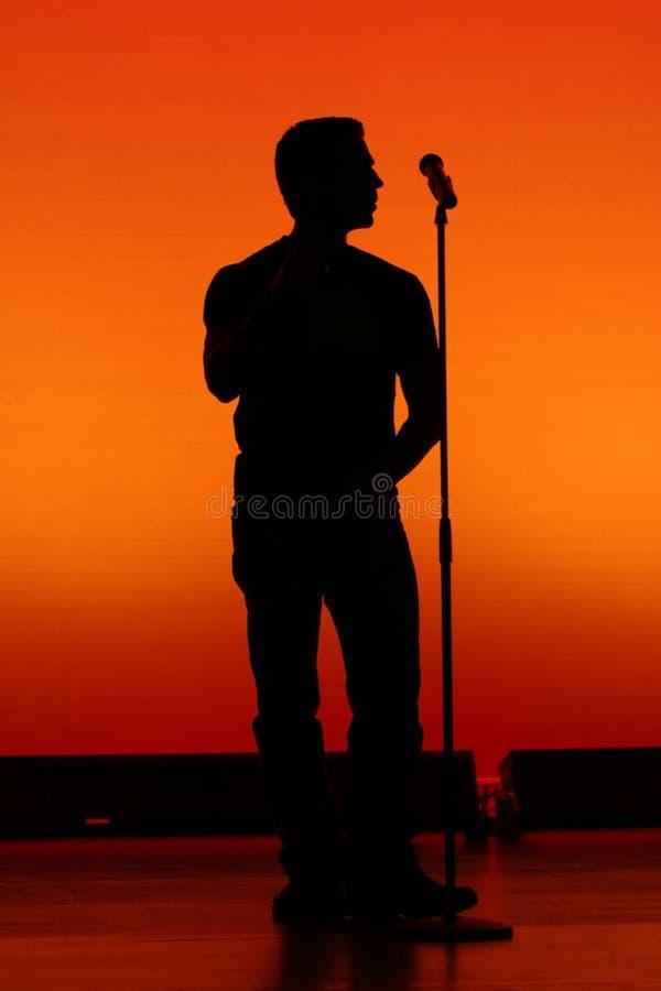 Estrella del rock. foto de archivo