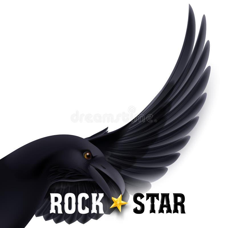 Estrella del rock ilustración del vector