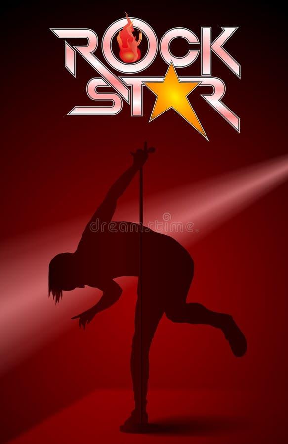 Estrella del rock del ejemplo libre illustration