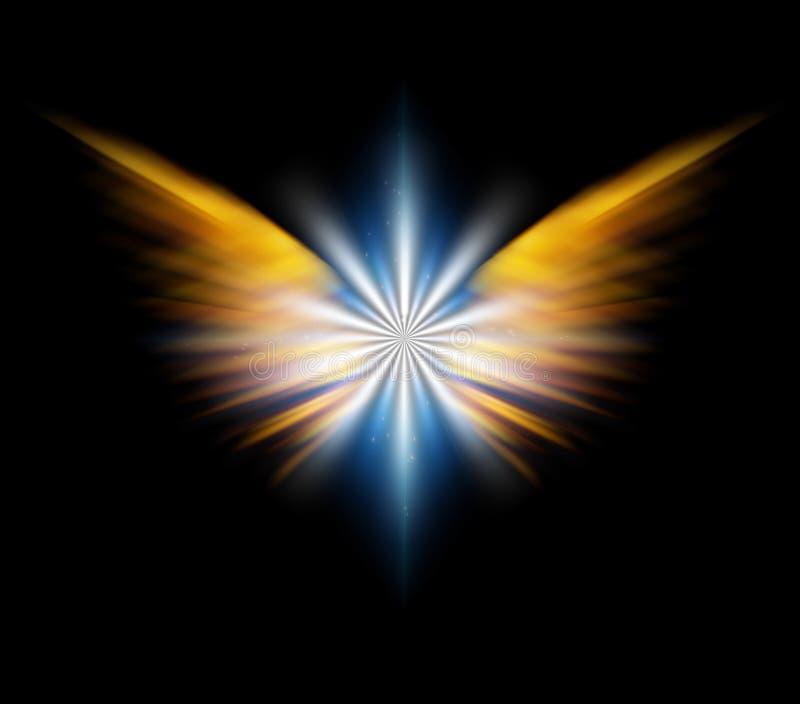 Estrella del ` s del ?ngel ilustración del vector