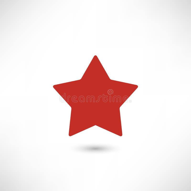 Estrella del vidrio verde del vector foto de archivo
