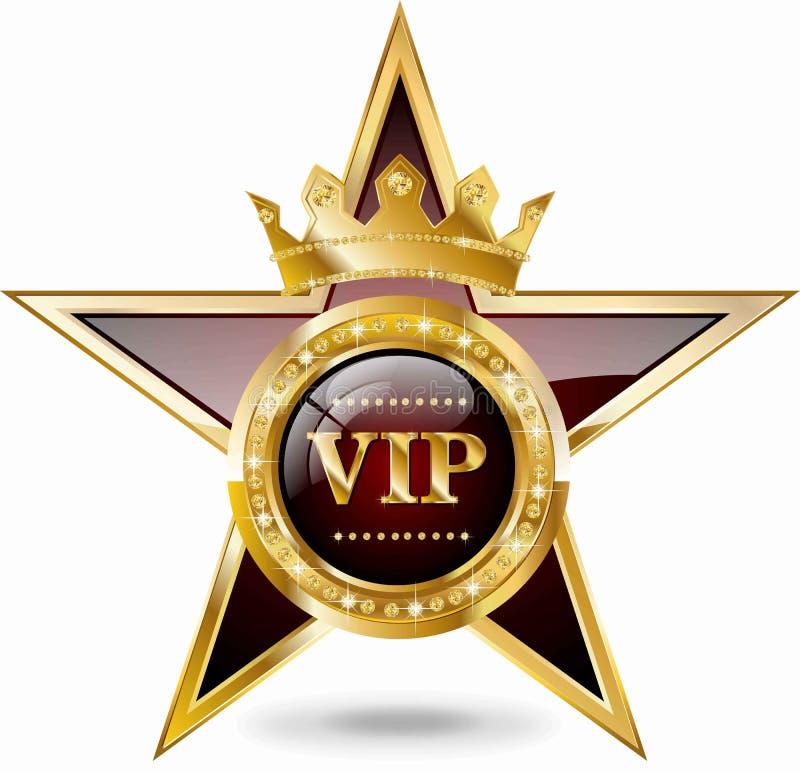Estrella del VIP stock de ilustración