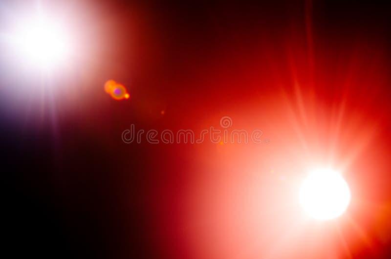 Estrella doble lejana natural del extracto en el fondo negro fotos de archivo