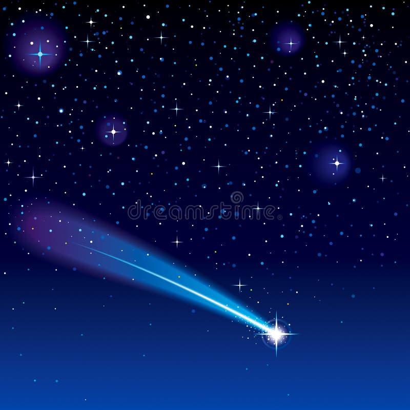 Estrella fugaz libre illustration
