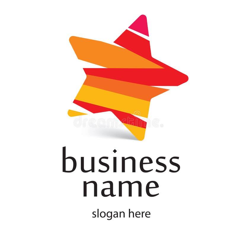Logotipo de la estrella ilustración del vector